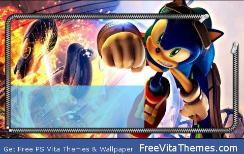 Sonic PS Vita Wallpaper