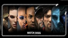 Download Watch Dogs Characters Lockscreen PS Vita Wallpaper