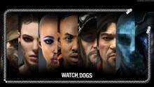 Download Watch Dogs Characters Lockscreen PS Vita Wallpaper