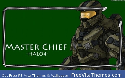 master chief PS Vita Wallpaper