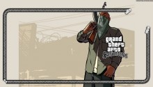 Download GTA SAN ANDREAS GANGSTER PS Vita Wallpaper