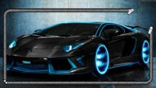 Download Lamborghini Lockscreen PS Vita Wallpaper