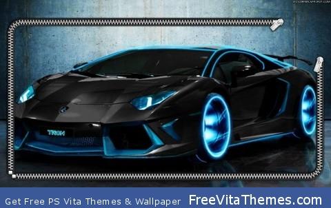 Lamborghini Lockscreen PS Vita Wallpaper