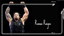 Download Roman Reigns PS Vita Wallpaper