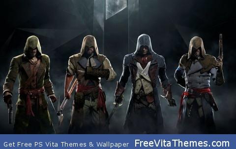 Assassin Creed Unity PS Vita Wallpaper