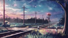Download Fantasy Painted Landscape PS Vita Wallpaper