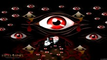 Download Hellsing Evil Eyes Icon stand PS Vita Wallpaper