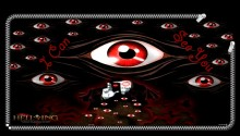 Download Hellsing Evil Eyes Lock Screen PS Vita Wallpaper