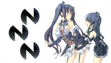 Download Hyperdimension Neptunia Noire and Uni PS Vita Wallpaper