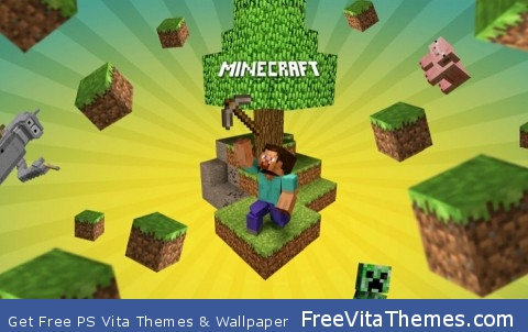 minecraft PS Vita Wallpaper