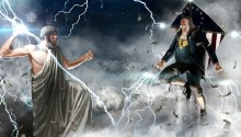 Download Franklin vs Zeus PS Vita Wallpaper