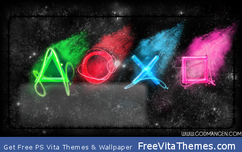 PSPace v2 (Lockscreen) PS Vita Wallpaper