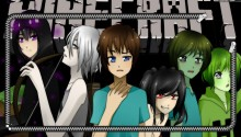 Download anime-minecraft PS Vita Wallpaper
