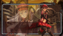 Download God Eater Alisa PS Vita Wallpaper