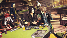 Download Fenrir – God Eater PS Vita Wallpaper