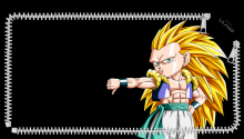 Download Gotenks PS Vita Wallpaper