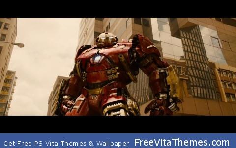 Hulkbuster PS Vita Wallpaper