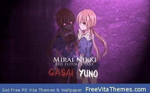 Yuno Gasai PS Vita Wallpaper