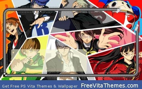 Persona 4 PS Vita Wallpaper