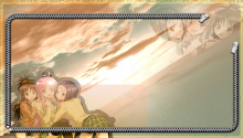 Download Anime School girls PS Vita Wallpaper
