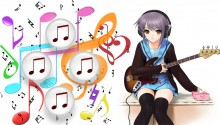 Download Anime – Music PS Vita Wallpaper