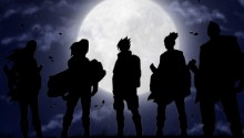 Download Curse Team Naruto PS Vita Wallpaper