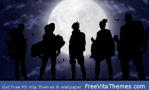 Curse Team Naruto PS Vita Wallpaper