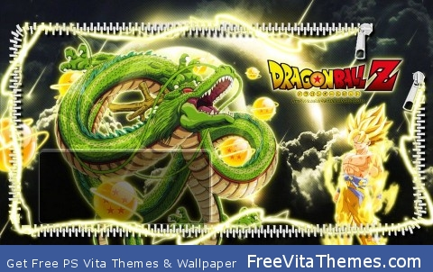 Dragonballz PS Vita Wallpaper