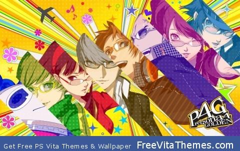 Persona 4 golden PS Vita Wallpaper