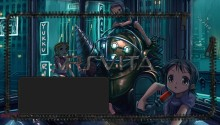 Download Bioshock Anime version PS Vita Wallpaper