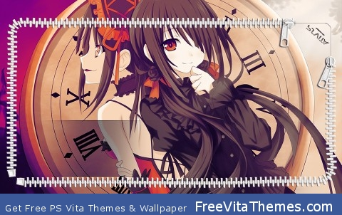 Kurumi Date a Live PS Vita Wallpaper