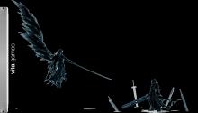 Download Sephiroth and cloud PS Vita Wallpaper