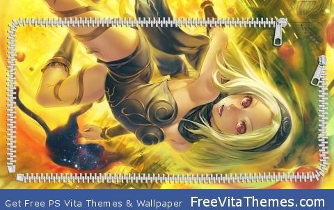 Kat Gravity Rush PS Vita Wallpaper