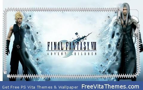 Cloud and sephiroth PS Vita Wallpaper