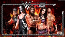 Download WWE 2k15 Theme PS Vita Wallpaper