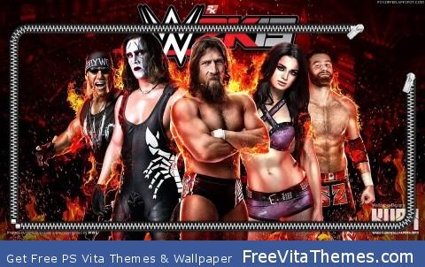 WWE 2k15 Theme PS Vita Wallpaper