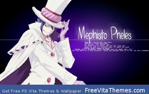 Mephisto PS Vita Wallpaper