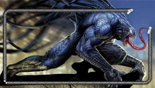 Download Venom Spiderman PS Vita Wallpaper