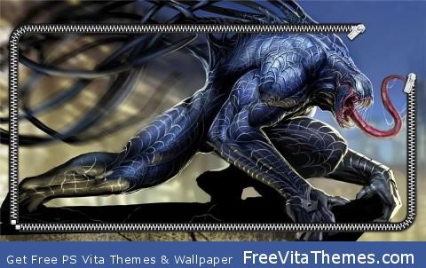 Venom Spiderman PS Vita Wallpaper