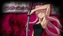 Download Yuno Gasai PS Vita Wallpaper