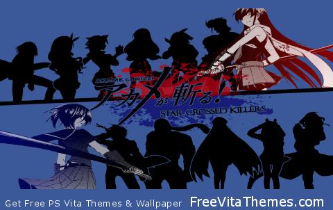 Akame ga Kill Transparent PS Vita Wallpaper