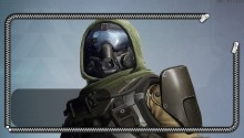 Download Destiny Hunter Lockscreen PS Vita Wallpaper