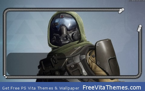Destiny Hunter Lockscreen PS Vita Wallpaper