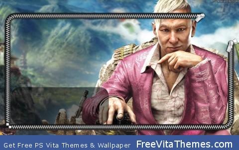 Far Cry 4 Lockscreen PS Vita Wallpaper