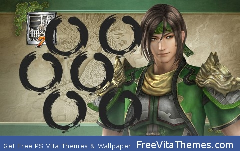 Dynasty Warriors – Guan Xing PS Vita Wallpaper