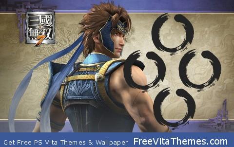 Dynasty Warriors – Yue Jin PS Vita Wallpaper