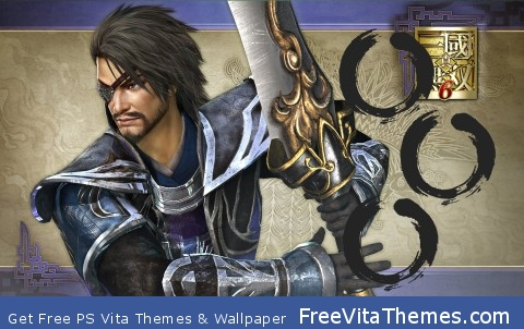 Dynasty Warriors – Xiahou Dun PS Vita Wallpaper