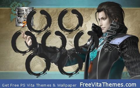 Dynasty Warriors – Jia Chong PS Vita Wallpaper
