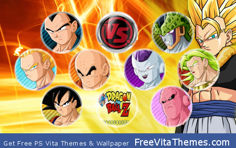 dragon ball PS Vita Wallpaper