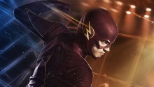 Download Grant Gustin as Barry Allen In The Flash PS Vita Wallpaper